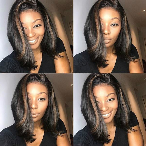 High quality Wave  bob lace wigs