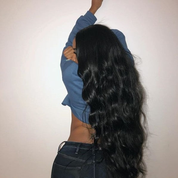 New Natural Long Bodywave Wigs