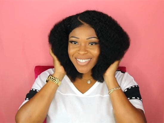 2019 New A Perfect Curly Wig For Natural