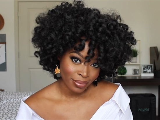 2019 New Short Curly Kinky Wigs for Black Women