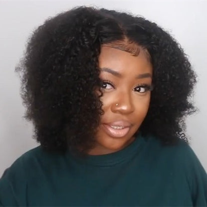 2019 NEW Afro Wig Short Curly Black Brown Wigs for Women
