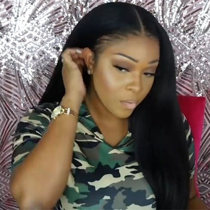 2019 New Fashion Kinky Straight Basic Cap Frontal Lace WIGS