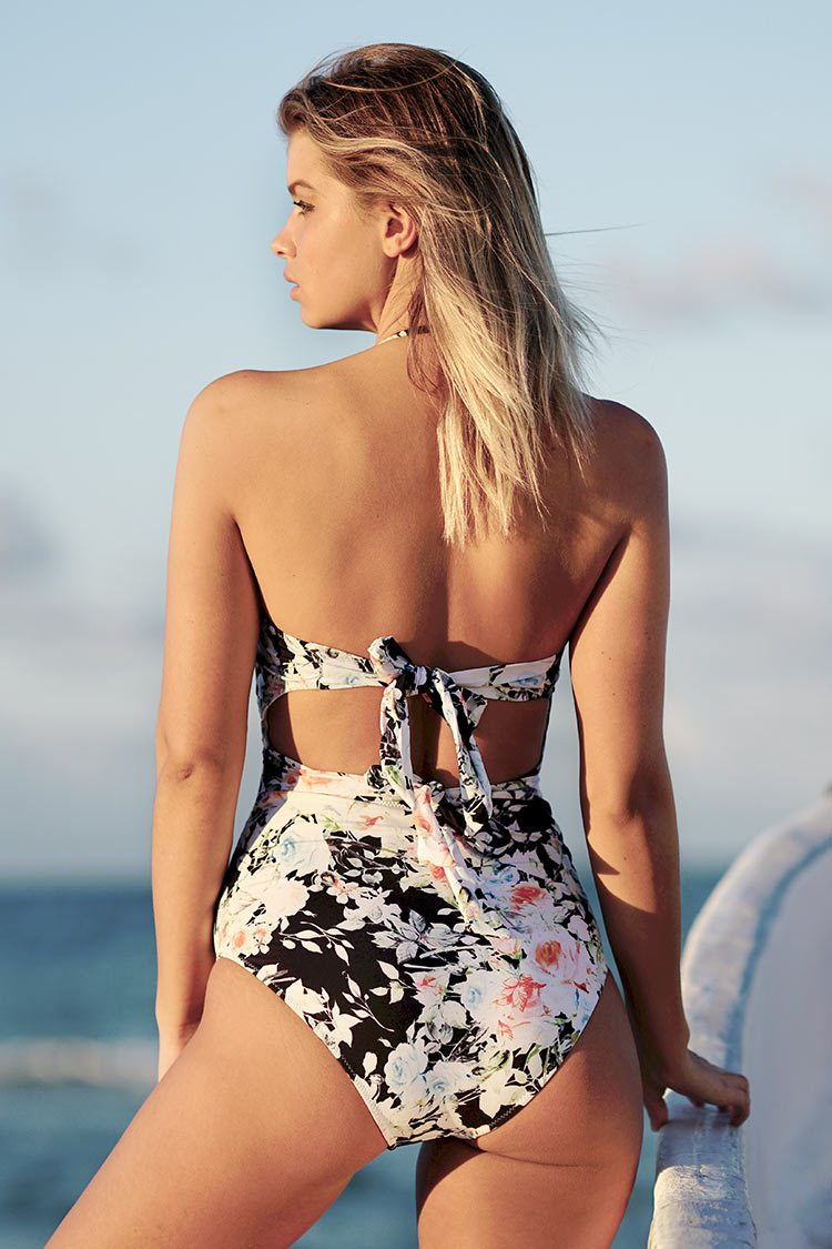Tender Night Print One-piece Swimsuit