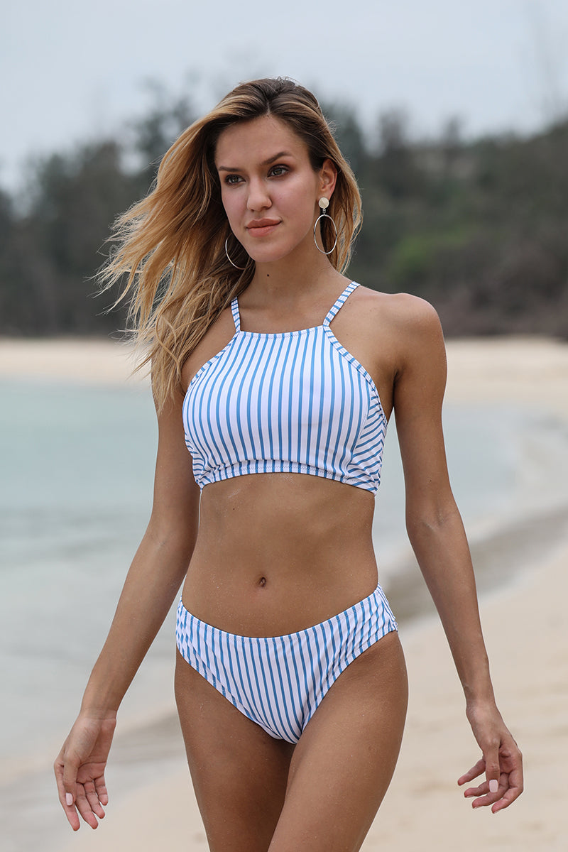 Breezy Stripe Switchback Bikini