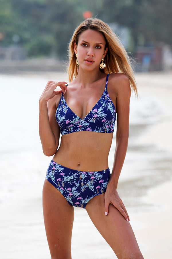 Tender Touch Floral Bikini Set