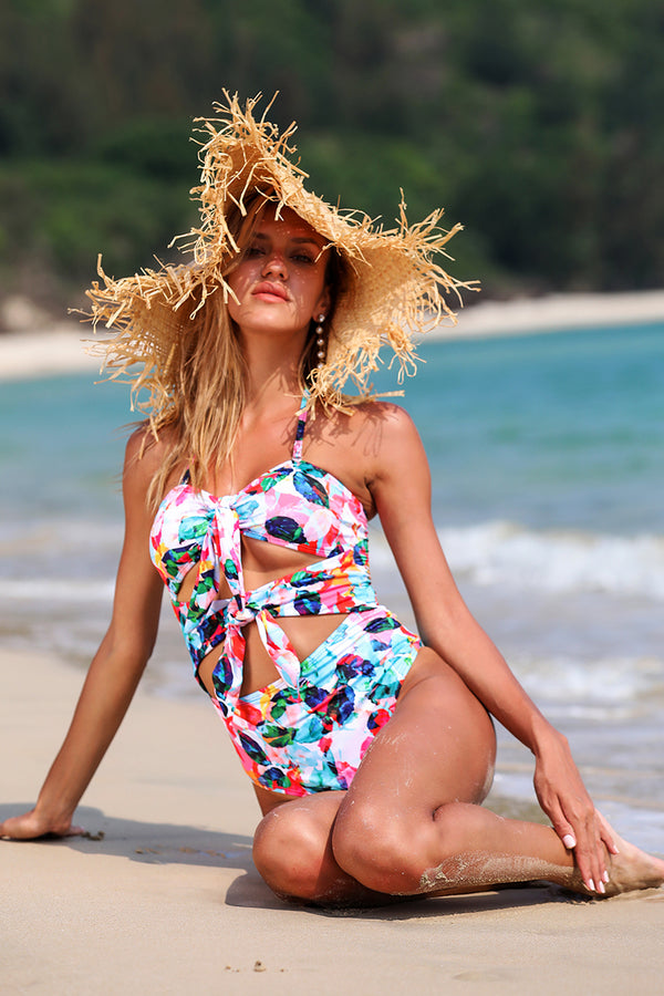 Beautiful Mind Floral One-Piece Swimsuit