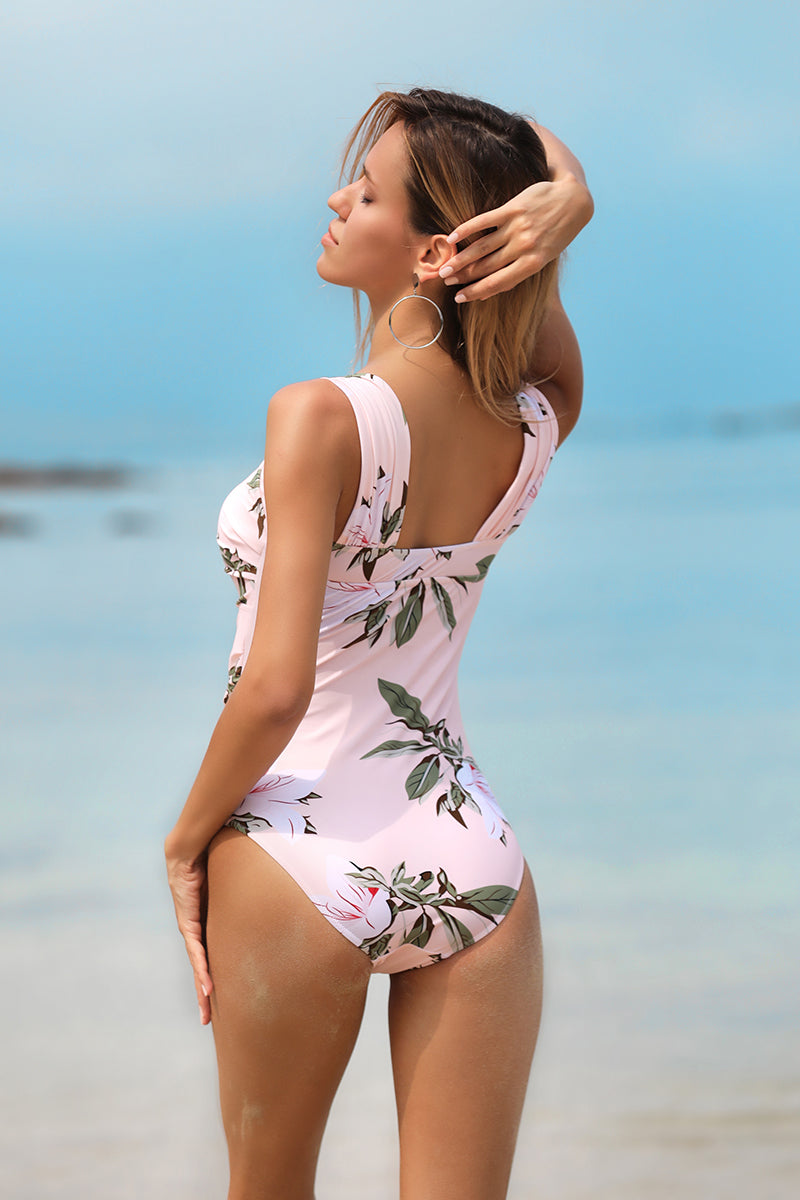 Best Summer Off  Shoulder One-Piece SwimSuit