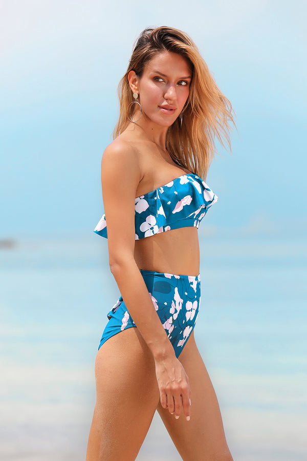 Orchid Icon Wave Bikini Set