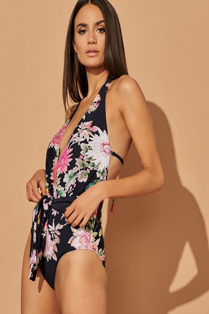BIRDS IN PARADISE ONE-PIECE SWIMSUIT