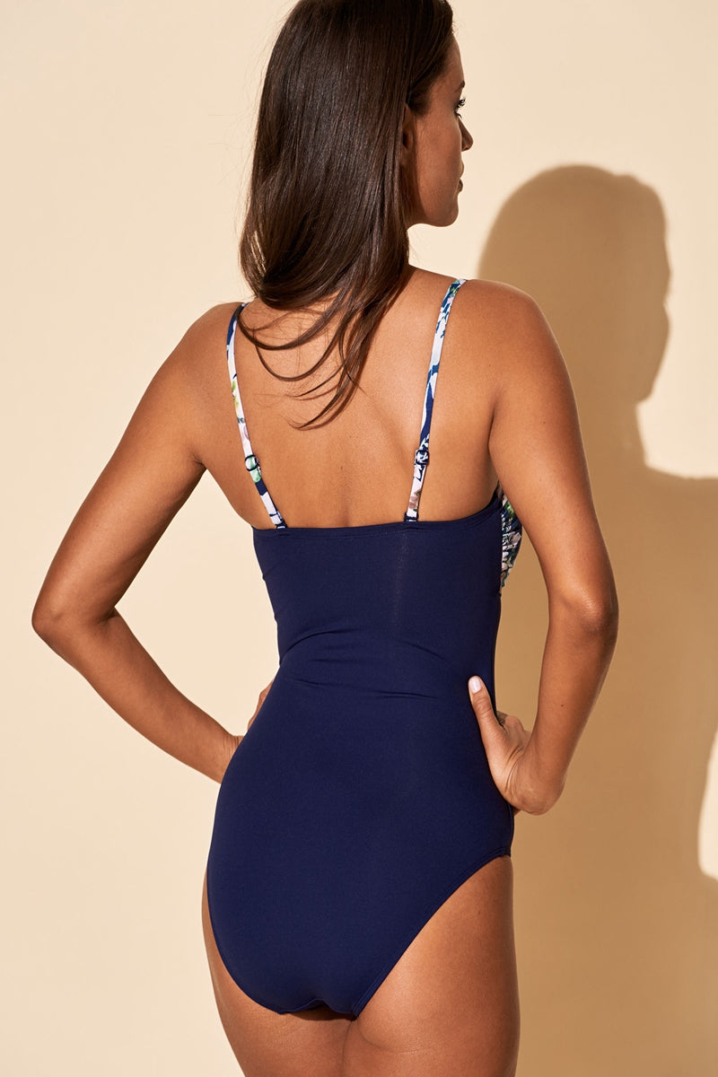 SUNSET ONE-PIECE SWIMSUIT