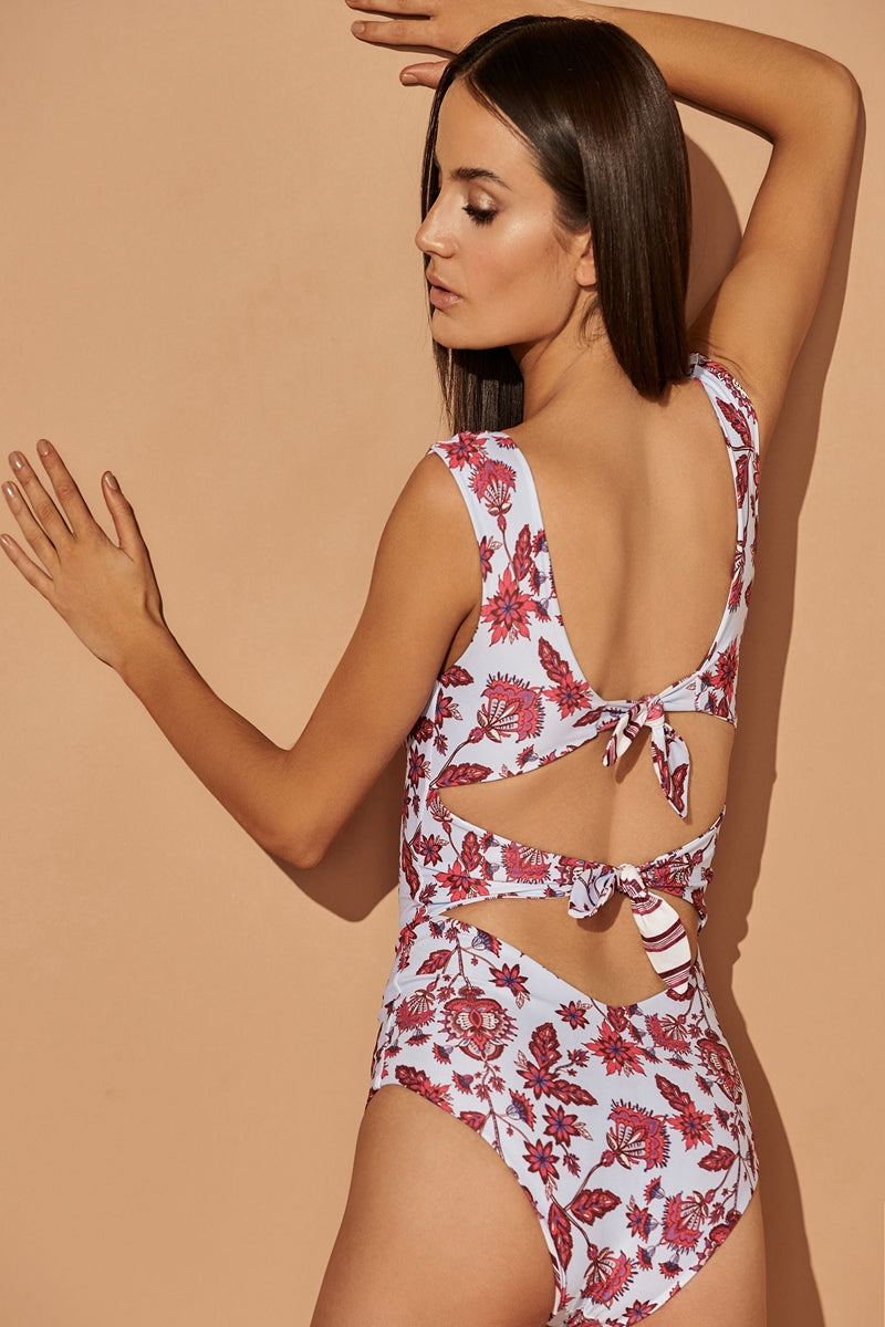 CARDINAL SPROUT AURORA ONE-PIECE SWIMSUIT