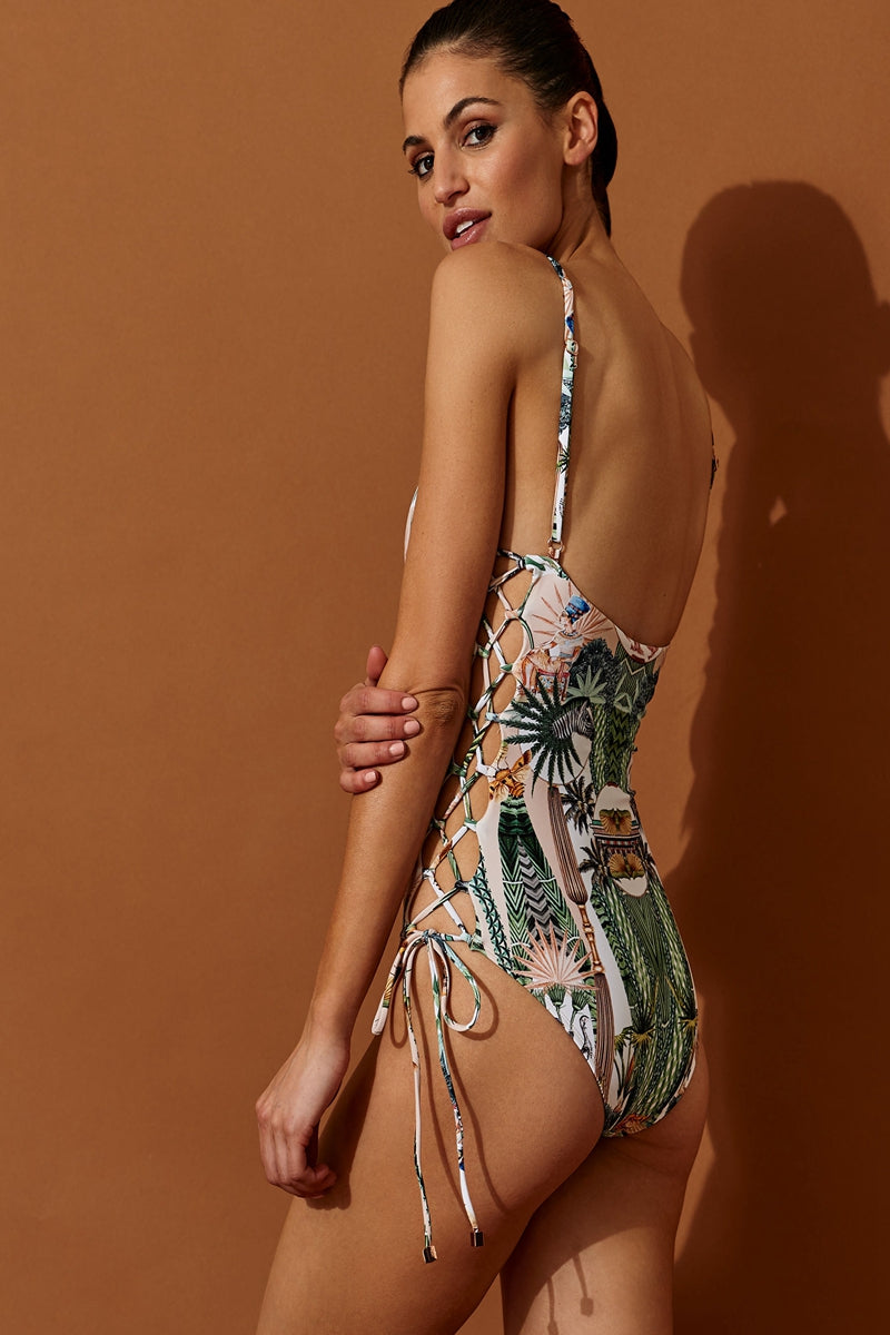 CLEOPATRA ONE-PIECE SWIMSUIT