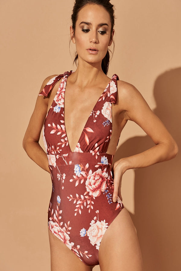 AURA PAIGE ONE-PIECE SWIMSUIT
