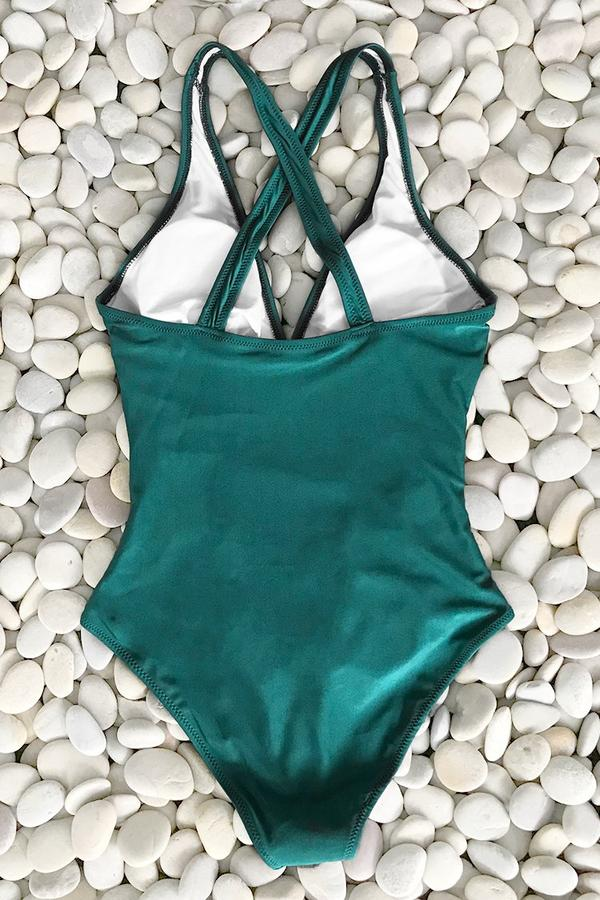 Full Of Grace Shirring One-piece Swimsuit