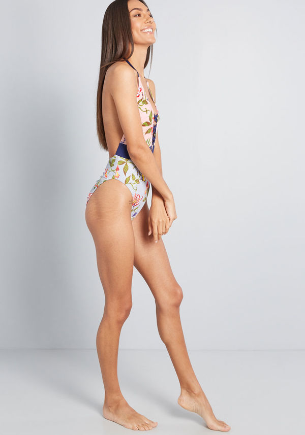 Ongoing Indulgence One-Piece Swimsuit