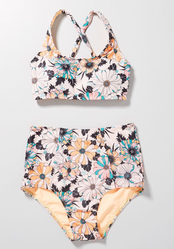 Sunday Dive High-Waisted Bikini Set
