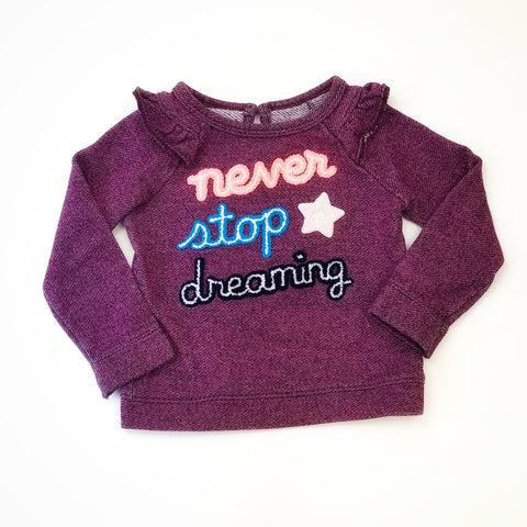 "2T ""Never Stop Dreaming"" Sweatshirt - Wild Child"