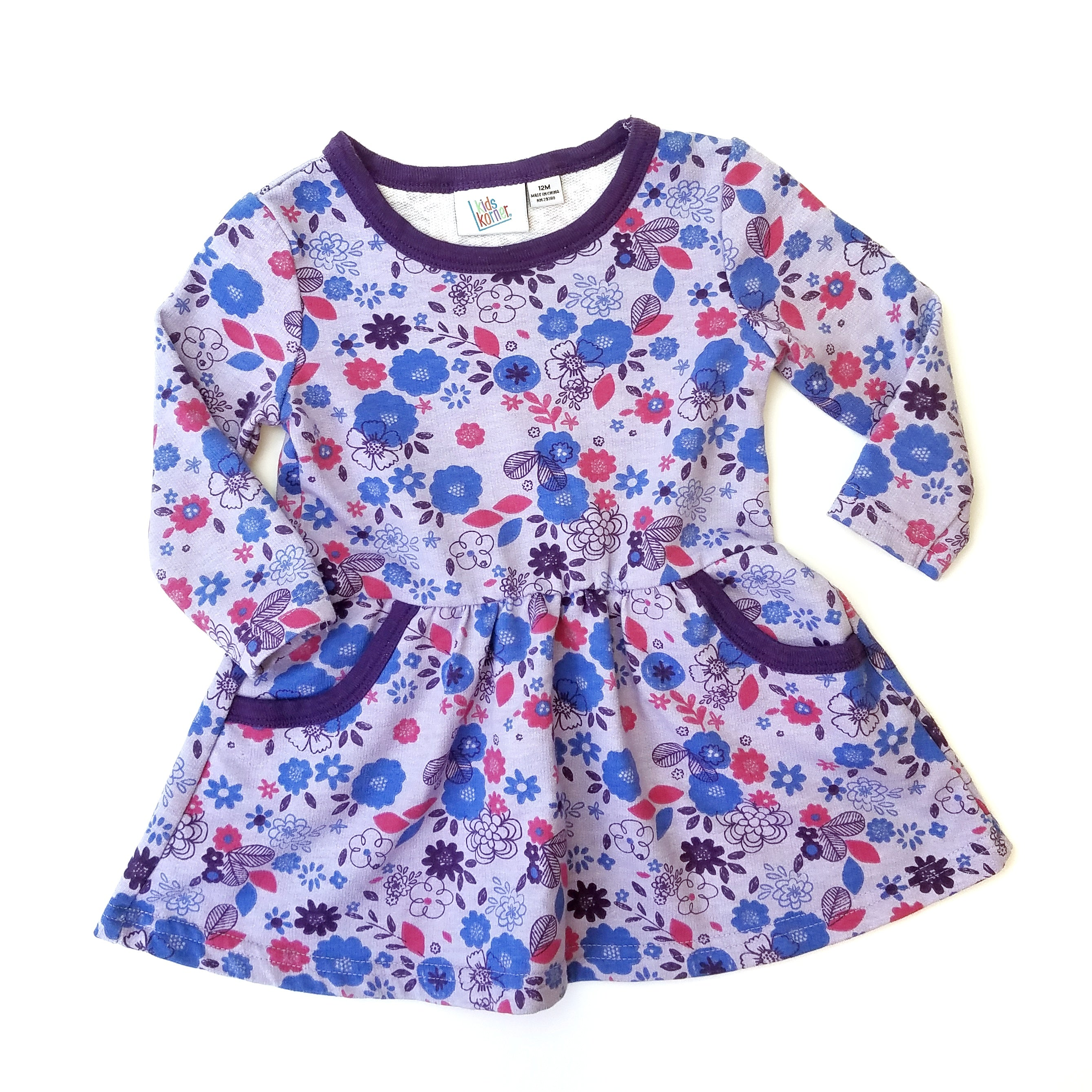 12mo Floral Dress - Wild Child