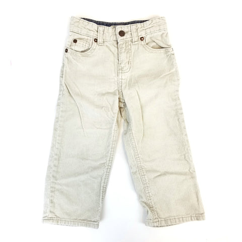 3t Cream Cords Oshkosh - Wild Child