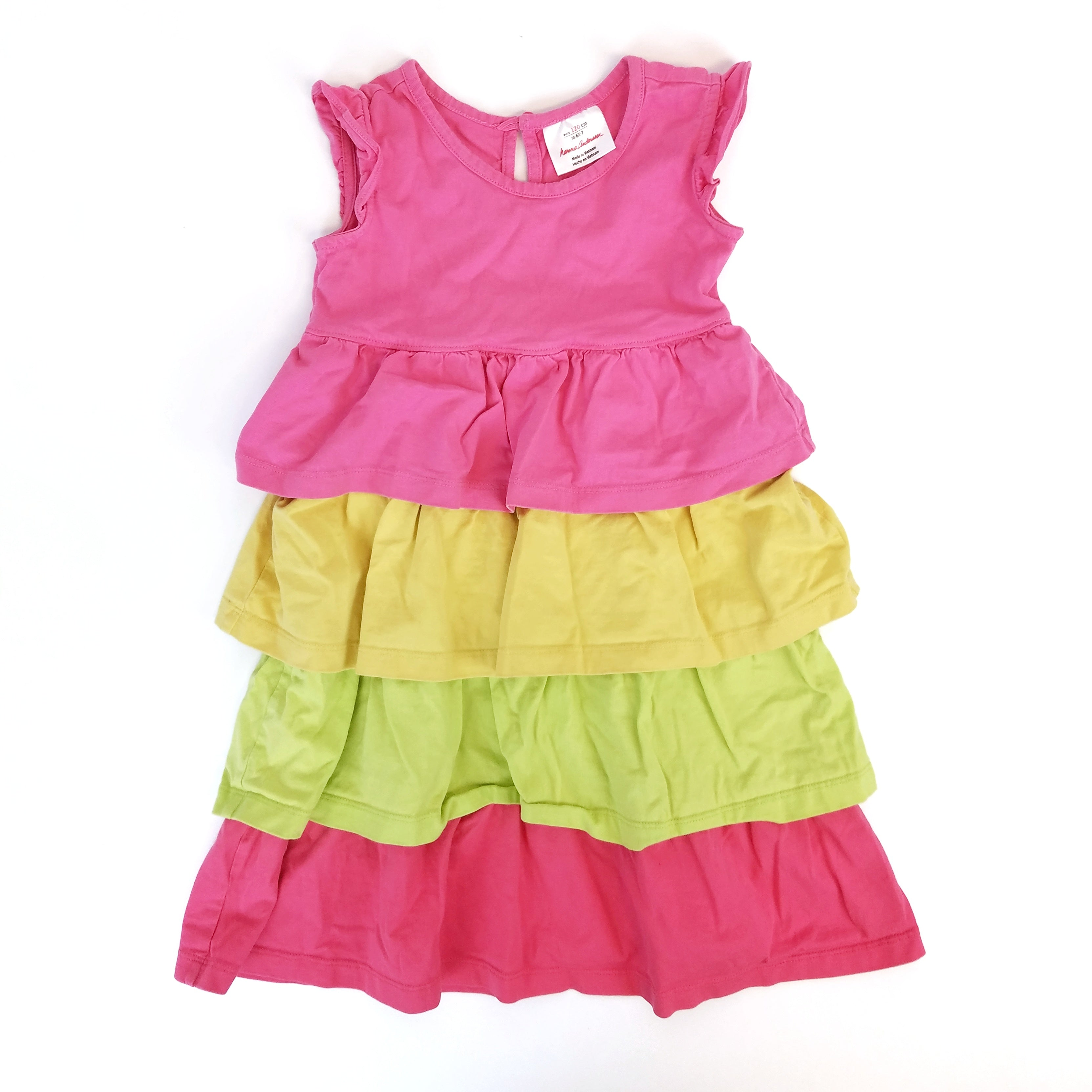 6-7 Tiered Ruffle Dress - Wild Child