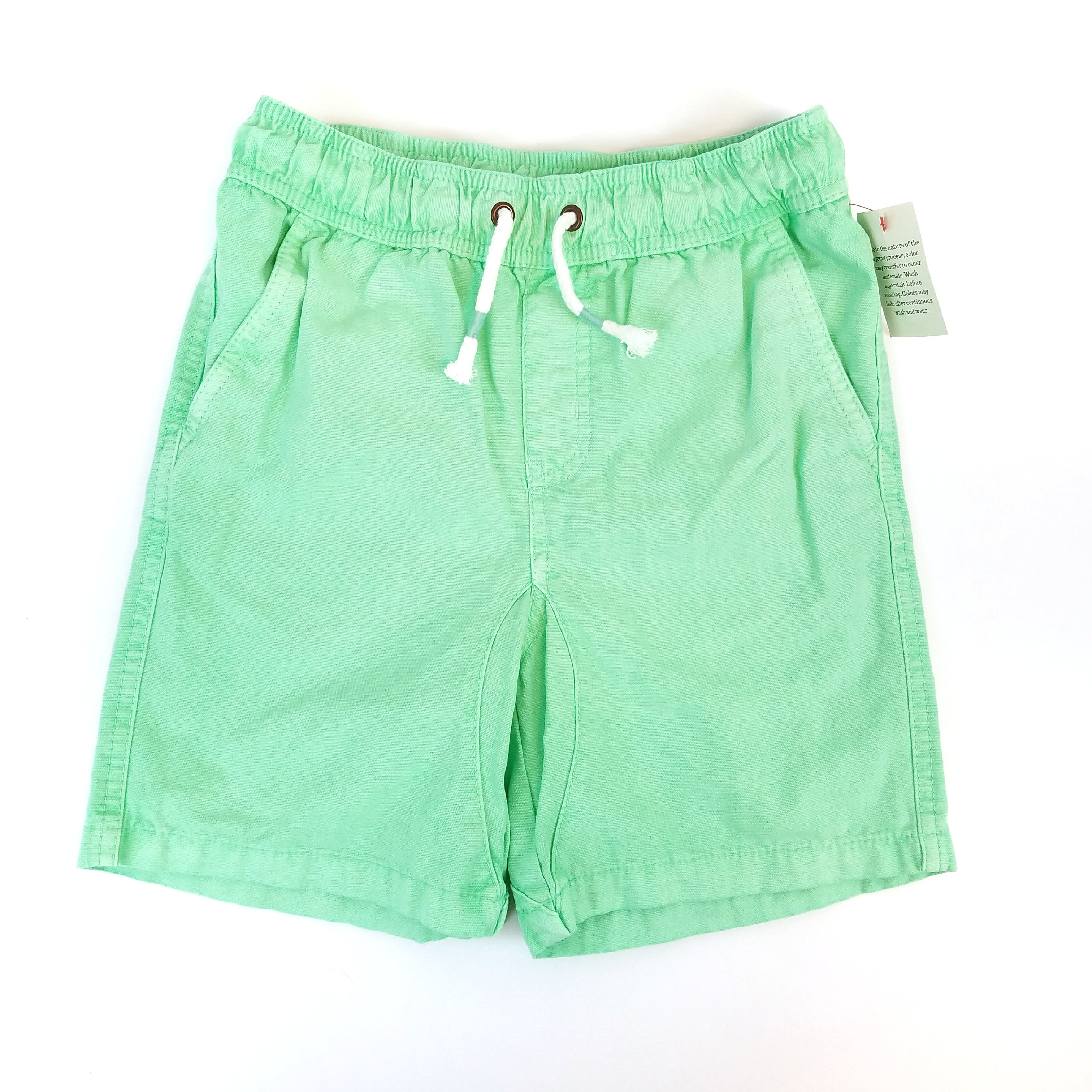 8/10 Bright Green Shorts - Wild Child