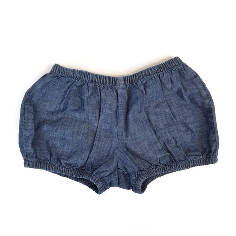 5t Chambray Bloomers - Wild Child