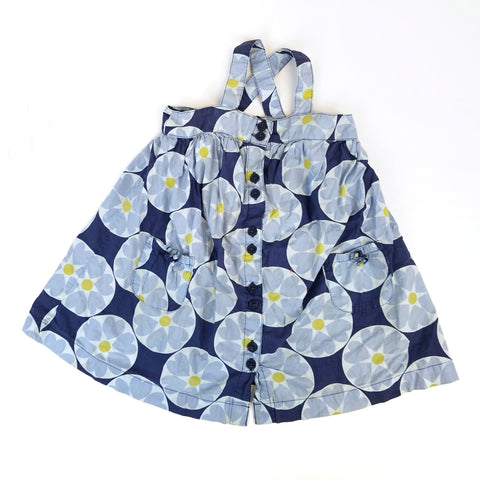 2t Geometric Floral Pinafore Dress - Wild Child