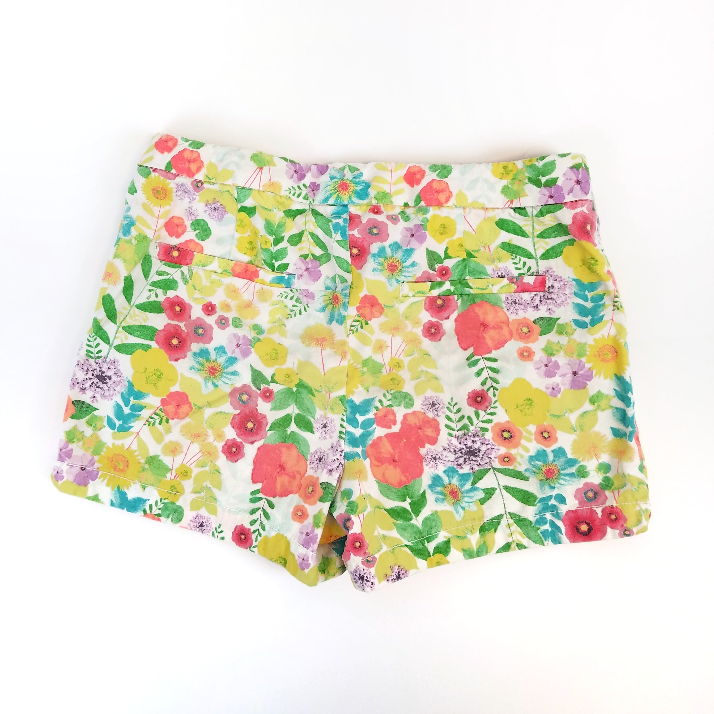 6/6x Snappy Floral Shorts - Wild Child