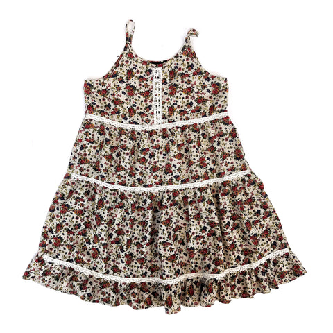 Sz 7 Floral Prairie Dress - Wild Child