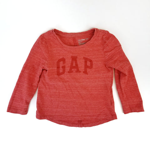 2T Long Sleeve Red T-shirt - Wild Child