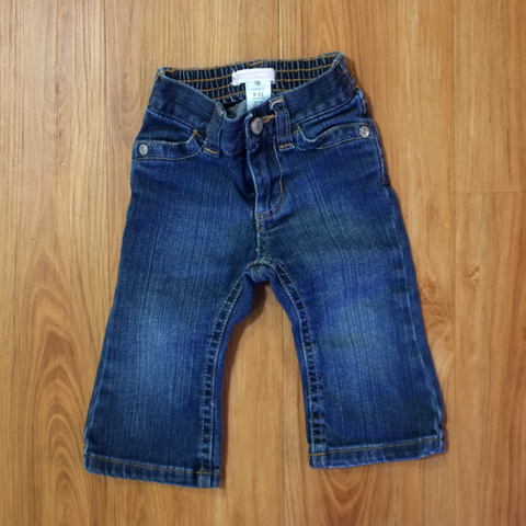 6-12mo Flare Baby Jeans - Wild Child
