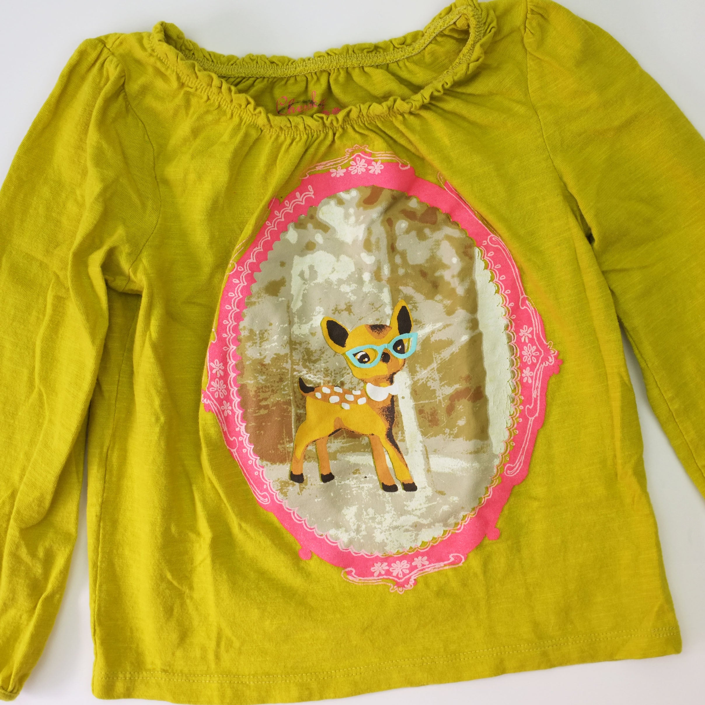 4T LS Deer Tee - Wild Child