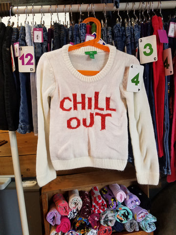 "4T ""Chill Out"" Sweater - Wild Child"