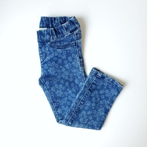 3T Floral jeans - Wild Child