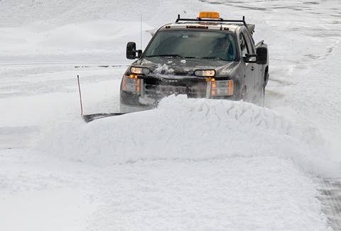 how to snow plow and snow plow techniques