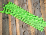 "400 - 48"" Hollow Marking Stakes - Green  -  $0.61 Per Stake"