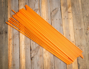 "400 - 36"" Hollow Marking Stakes - Orange -  .45 Per Stake"