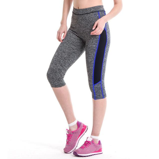 New Arrival High Waist Fitness Yoga Sport Pants Stretch Cropped Leggings Outdoor Fitness Pants#20