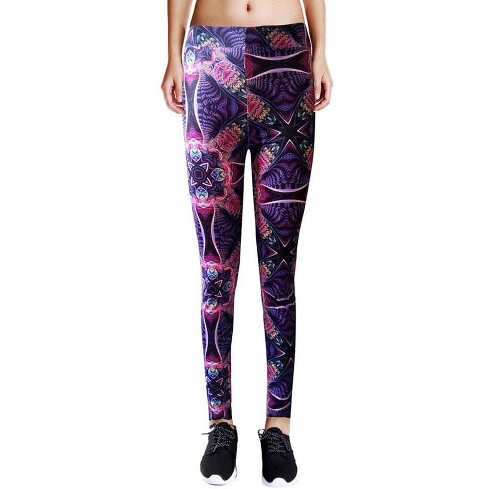 2017 Woman Sport Leggins Gym Yoga Workout Sports Running Pants Leggings Fitness Stretch Trousers #EW