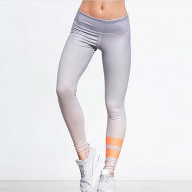 Yoga Leggings Women Fitness Leggings High Waist Autumn Winter Workout Pants 2017 New Arrival Athletic Trouser #EW