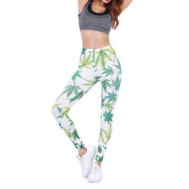 2017 Brand Sex High Waist Stretched Sports Pants Gym Slim Clothes Running Tights Women Sports Leggings Fitness Yoga Pants #11