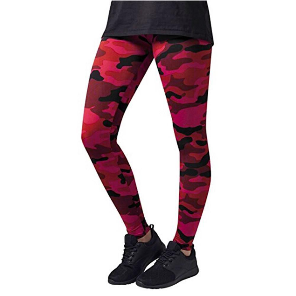 Multicolor Camo Leggings