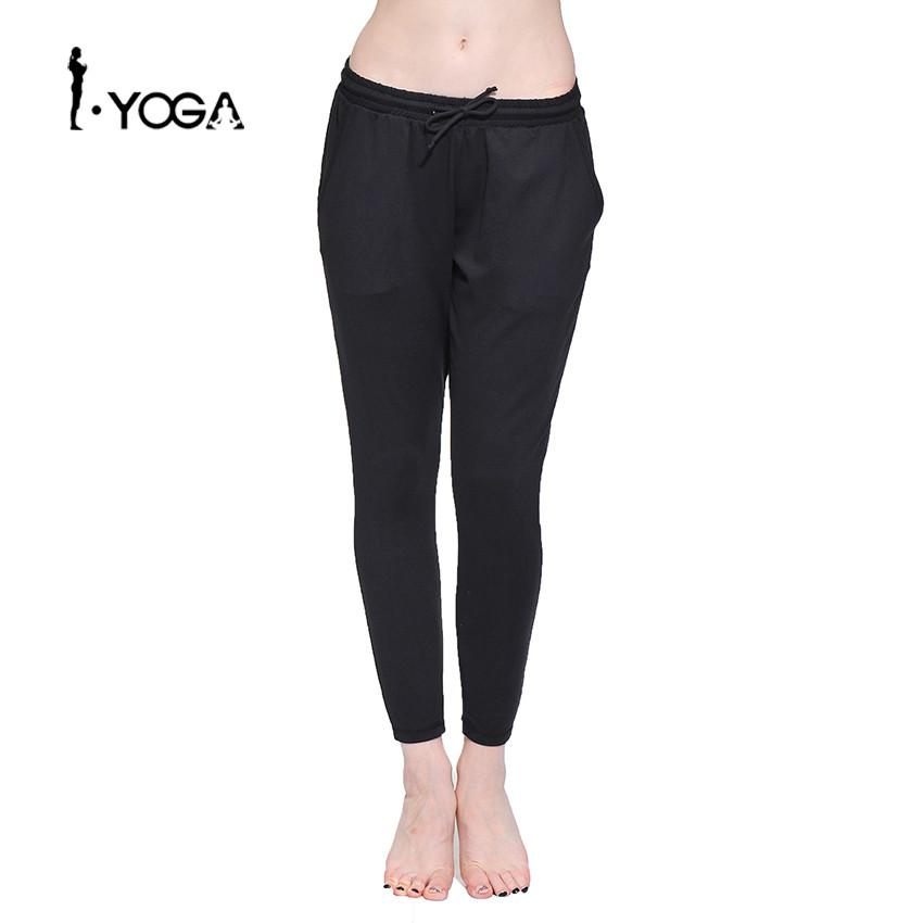 Loose Women Comfortable Sports Wear Yoga Pants Fitness Elastic Waist Running Jogging Female Cloth Gym Workout Trousers