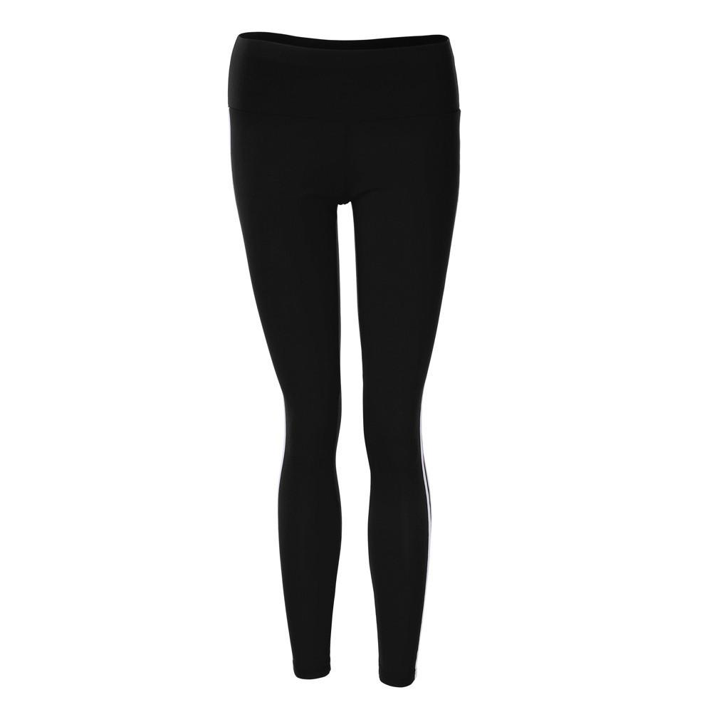 Women Yoga Running Pants Cropped Leggings High Waist Stretch Trousers
