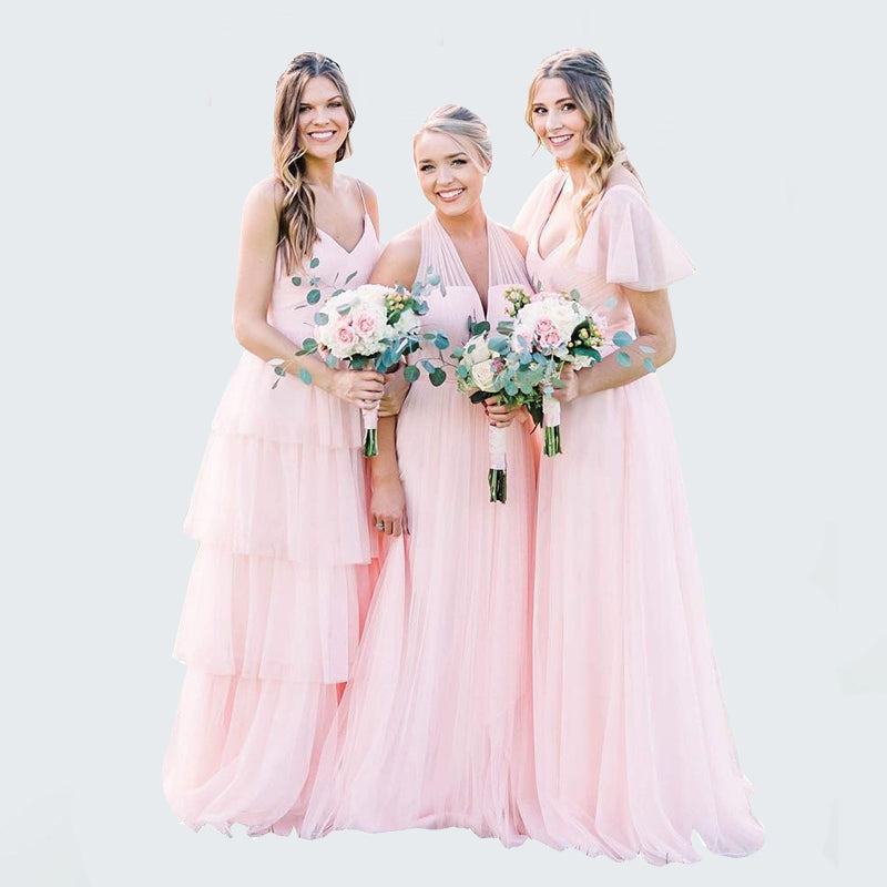 dream tulle bridesmaid dresses