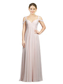 Mila Gowns Bridesmaid Dress Zelda Bridesmaid Dress, 53# A-Line Sweetheart Floor Length Long Chiffon Sleeveless Bridesmaid Dress