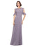 Mila Gowns Adalynn Long A-Line High Neck Chiffon Tahiti Bridesmaid Dress 174114