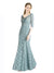 Mila Gowns Jaylene Long A-Line Sweetheart Lace Blue 97# Bridesmaid Dress 174310