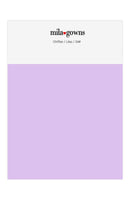Mila Gowns Chiffon Color Swatches - Lilac