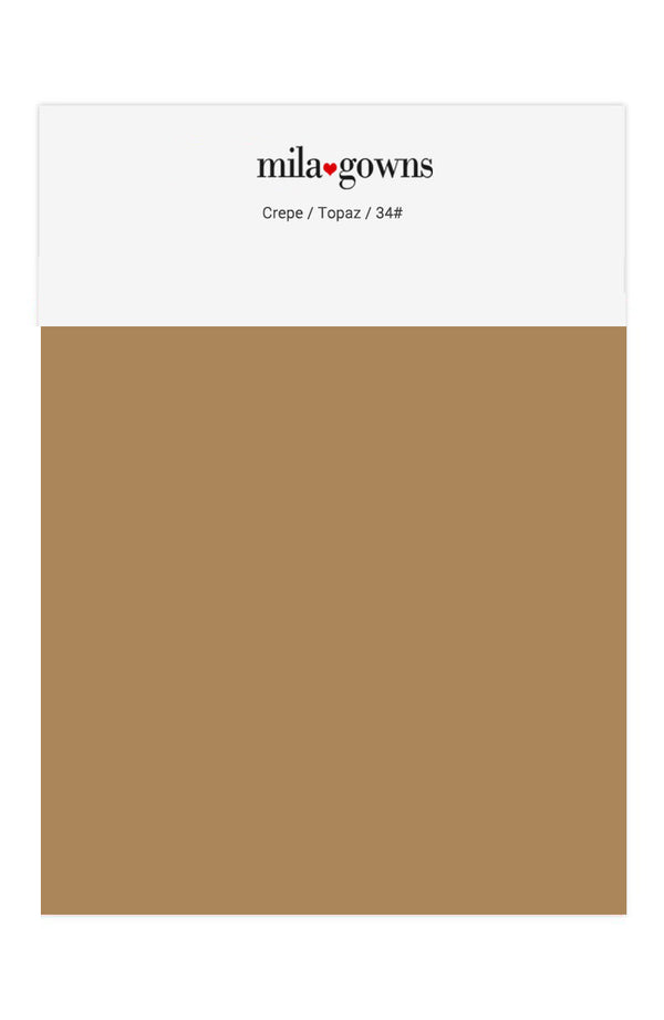 Color Swatches - Crepe